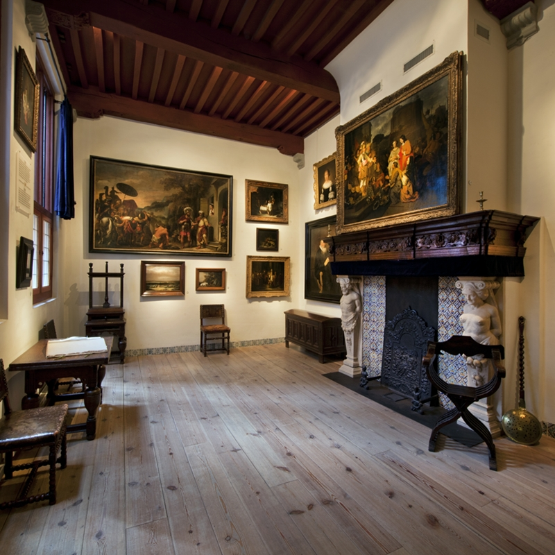 Дом Рембрандта в Амстердаме