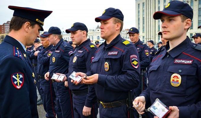 отбор кандидата в полицию