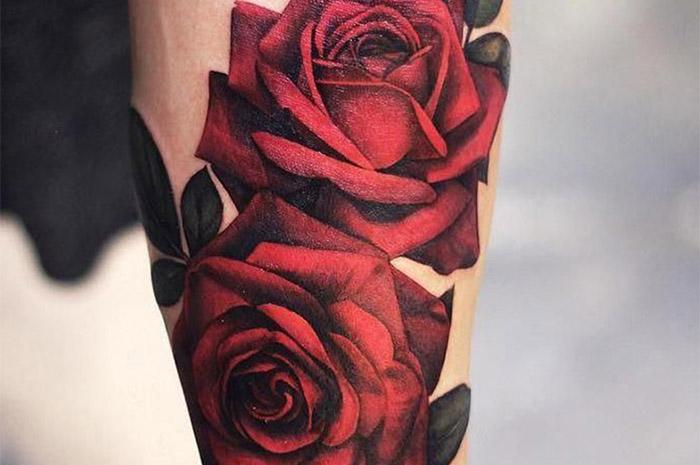 Обозначение розы