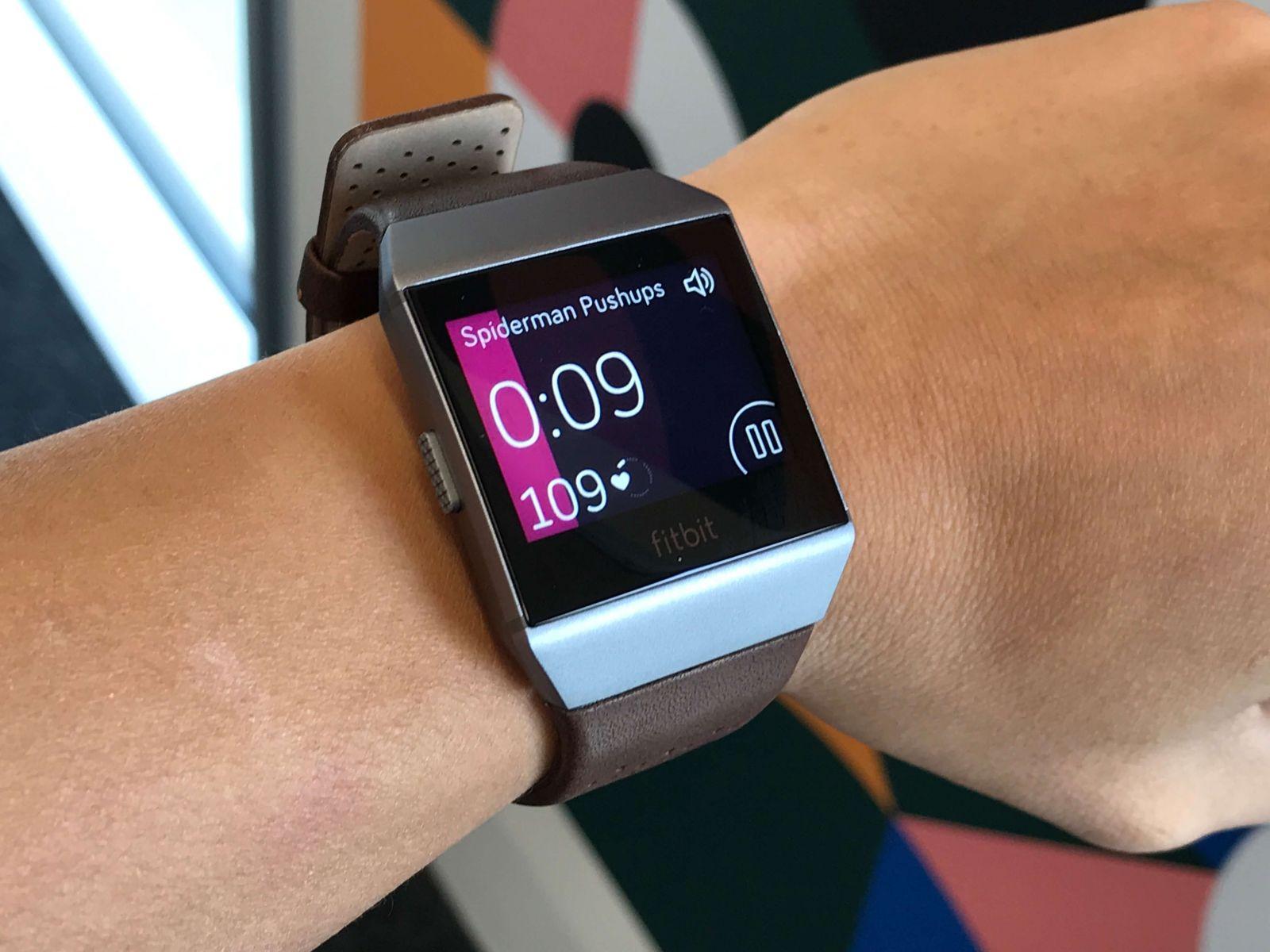 Характеристики Fitbit ionic