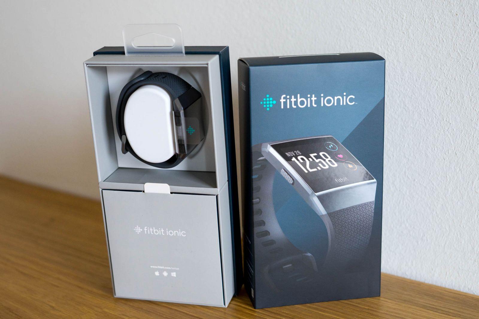 Комплект Fitbit ionic