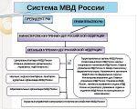 Современная система МВД России
