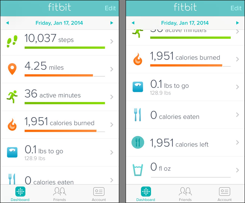 Приложение Fitbit