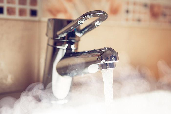 Перерасчет горячей воды