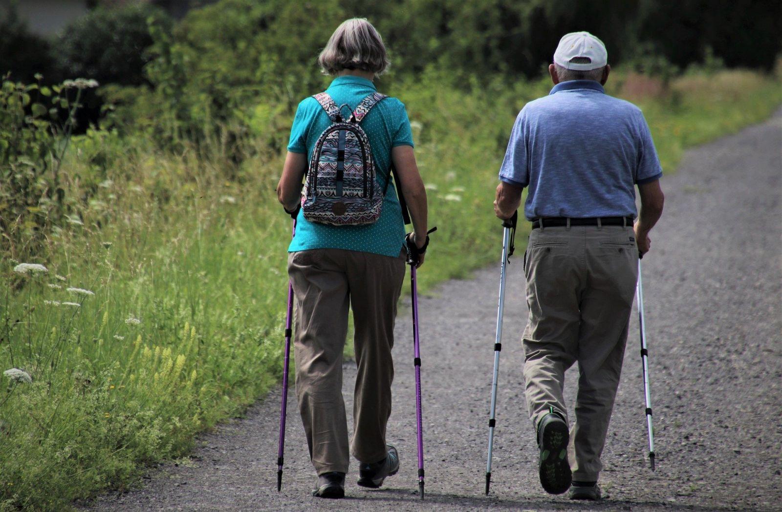 Скандинавская ходьба для пожилых дыхание