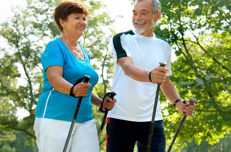 Скандинавская ходьба для пожилых информация