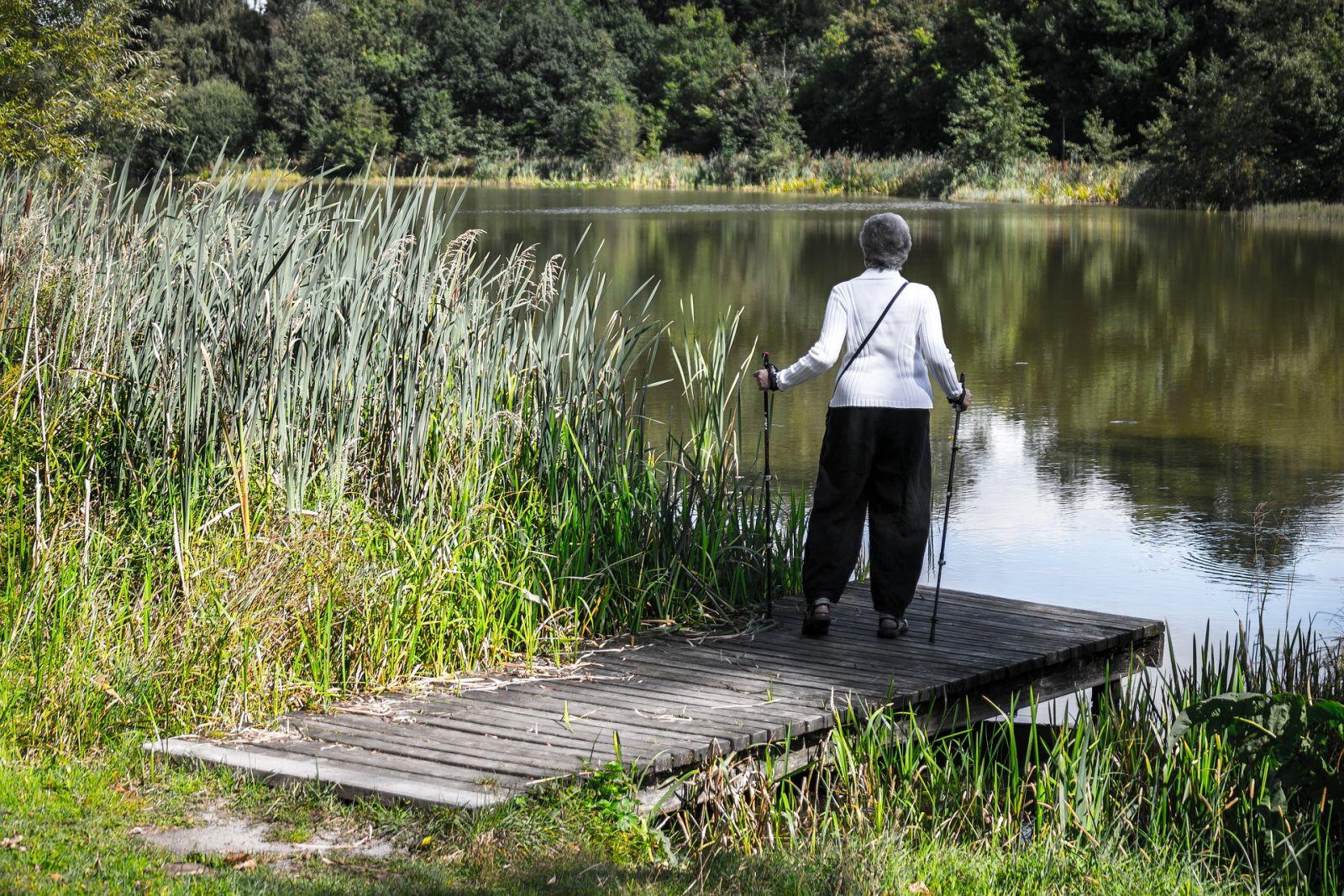 Скандинавская ходьба для пожилых одежда