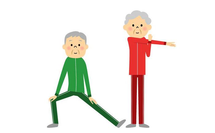 Скандинавская ходьба для пожилых разминка