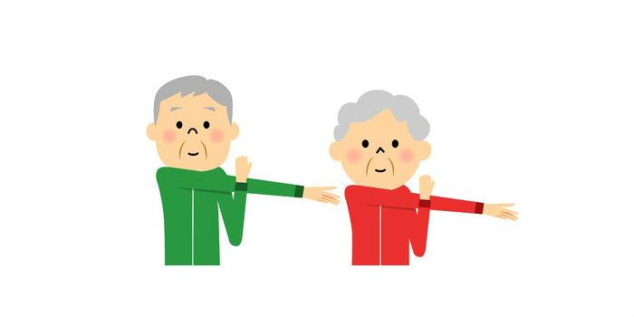 Скандинавская ходьба для пожилых заминка