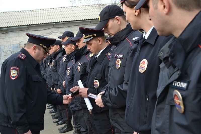 Работа полицейского в России