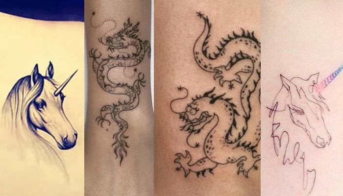 Драконы и единороги