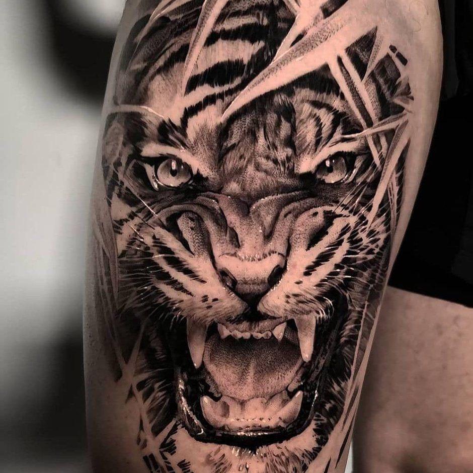 Тату тигр