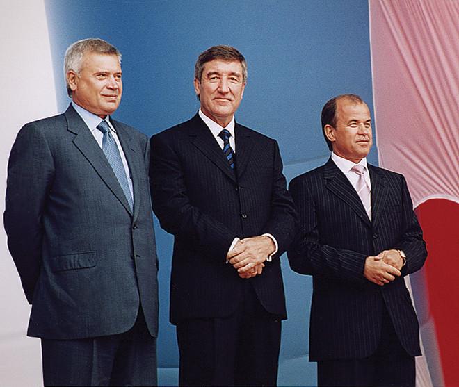 Юрий Шафраник и Вагит Алекперов