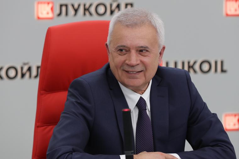 Глава НК «Лукойл» Вагит Алекперов