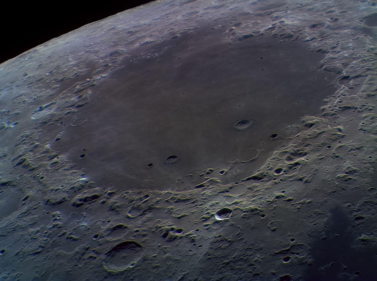 Изображение моря кризисов на Луне